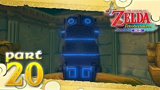 The Legend of Zelda: The Wind Waker HD - Part 20 - Tower of the Gods - Dungeon Map