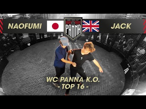 Naofumi (JAP) VS Jack Downer (UK) | 1/8 FINAL, Panna Knock Out World Championships 2019