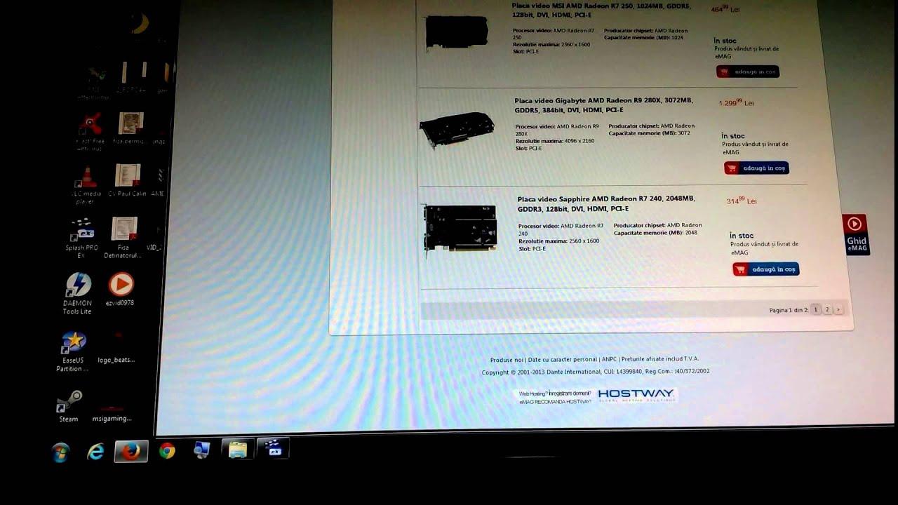 MSI AMD R9 270X OC Gaming FLICKER ISSUE