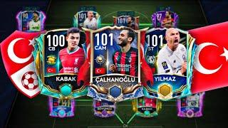 INSANE FULL TURKEY SQUAD BUILDER BEST FULL TURKEY SQUAD FIFA MOBILE 21