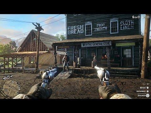 Red Dead Redemption 2 Free Roam Gameplay LIVE! Robbing Stores, Bounties, Hunting, Fishing!
