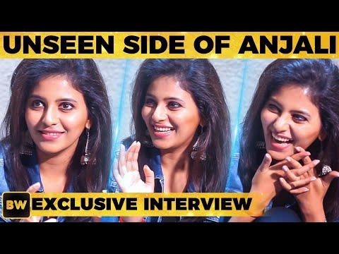 UNSEEN Anjali on Sets - First Time Ever! | Peranbu | Mammootty | Ram