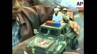 Bin Laden toys prove hit with Pakistani children