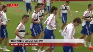 Bản tin thể thao (7h10 - 14/6) - Trước Giờ Khai Màn World Cup 2018