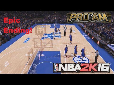 NBA 2K16 Pro Am vs. Kentucky Wildcats EPIC ENDING!