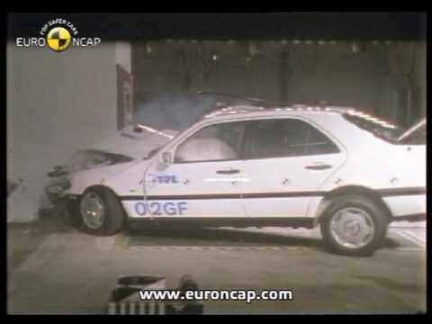 Euro NCAP | Mercedes Benz C Class | 1997 | Crash Test