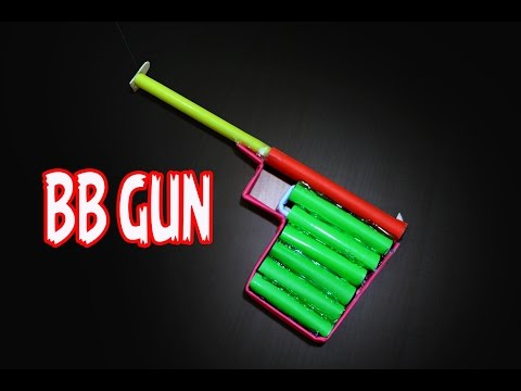 How to make a Simple Paper BB Gun | Haenel 100 Pistol l Easy Tutorial