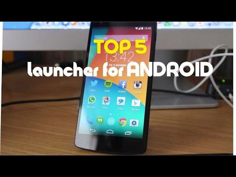 Top 5 Best Android Launchers 2017 / Топ 5 лаунчеров для андроид 2017