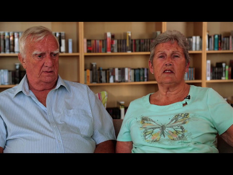 Thumbnail: Joan talks about support husband Derek has received from Blind Veterans UK