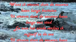 Stef Bos -  De Rivier + Lyrics on screen