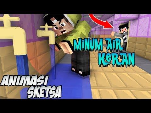 Lucu !! Erpan Puasa | 4Brother - ( Animasi Minecraft Indonesia )