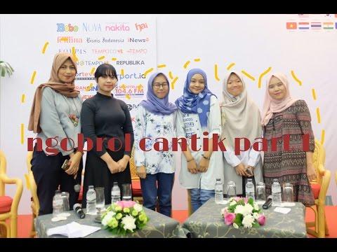 (1/2) Ngobrol Cantik Penulis DAR! Mizan di IIBF 2016 JCC Senayan, Jakarta