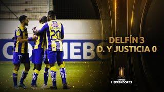Delfín vs. Defensa y Justicia [3-0] | RESUMEN | Fase de Grupos | Jornada 5 | Libertadores 2020