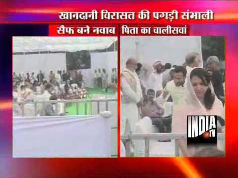 Saif Ali Khan Becomes Nawab Of Pataudi