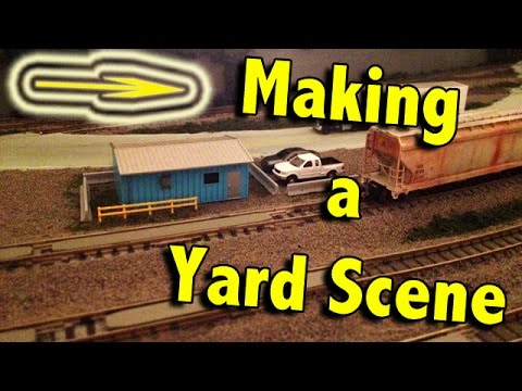 Model Railroading How To – Making a Freight Yard