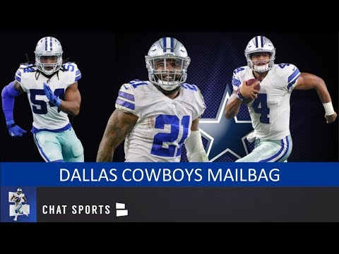 ezekiel-elliott-holdout,-dak-prescott-extension-&-cowboys-2020-free-agency-|-dallas-cowboys-mailbag