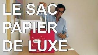 Le sac papier luxe