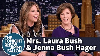 Mrs. Laura Bush and Jenna Bush Hager on George W. Bush's Painting
