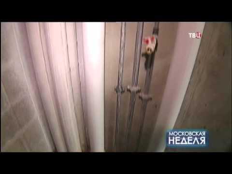 Сюжет  ТК ТВ Центр о реконструкции с надстройкой дома на ул. Мишина
