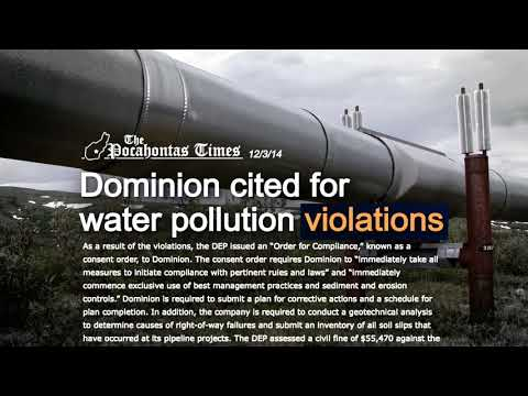 Stop Dominion's Atlantic Coast Pipeline in Virginia