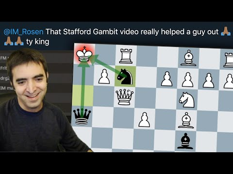 Opponent Didn't Watch My Stafford Gambit Video