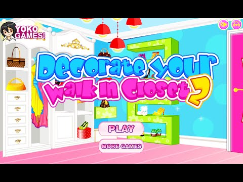 Decorate Your Walk In Closet 2 Fun Online Design Games For Girls Kids Teens