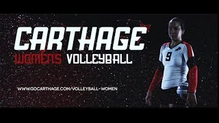 Carthage College Womens Volleyball Feature Video
