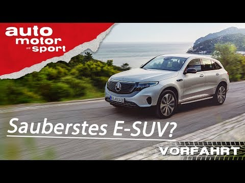 Mercedes-Benz EQC (2019): Wie gut ist der Stern unter Strom? –Review/Fahrbericht  auto motor & sport