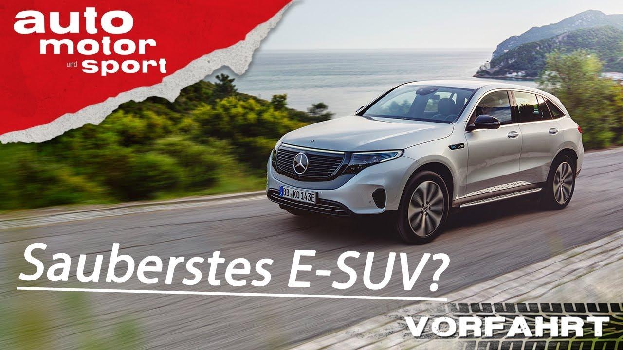 Mercedes-Benz EQC (2019): Wie gut ist der Stern unter Strom? –Review/Fahrbericht |auto motor & s