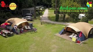 Ardoer camping de Haeghehorst vanuit de lucht