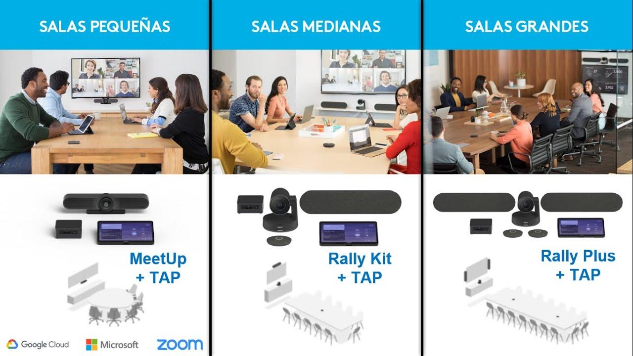 Logitech TAP para TeleTrabajo y TeleEducación: la nueva normalidad