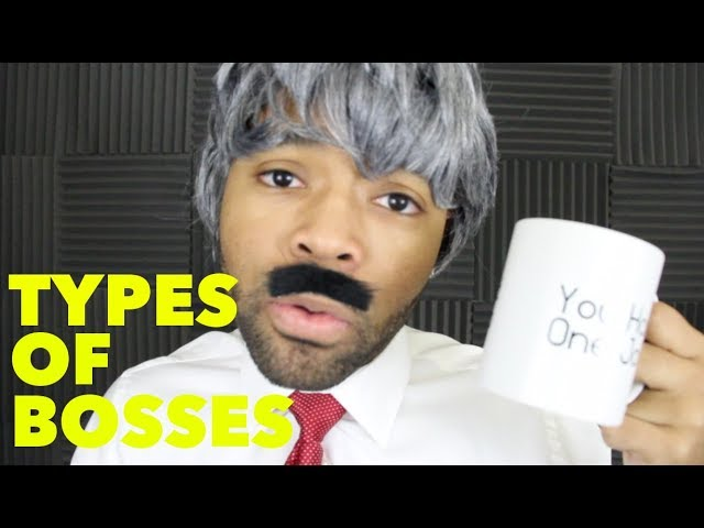 21 types of bosses 21 types of bosses 21 types of bosses the martyr boss the martyr boss has done, does, and always will do anything for the good of the company he has worked christmas day, with pneumonia, in a snowstorm.