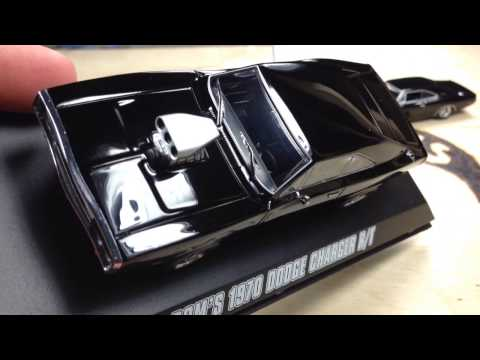 Greenlight Hollywood Fast and Furious Dom's 1970 Dodge Charger R/T 1/43 Scale Review!!