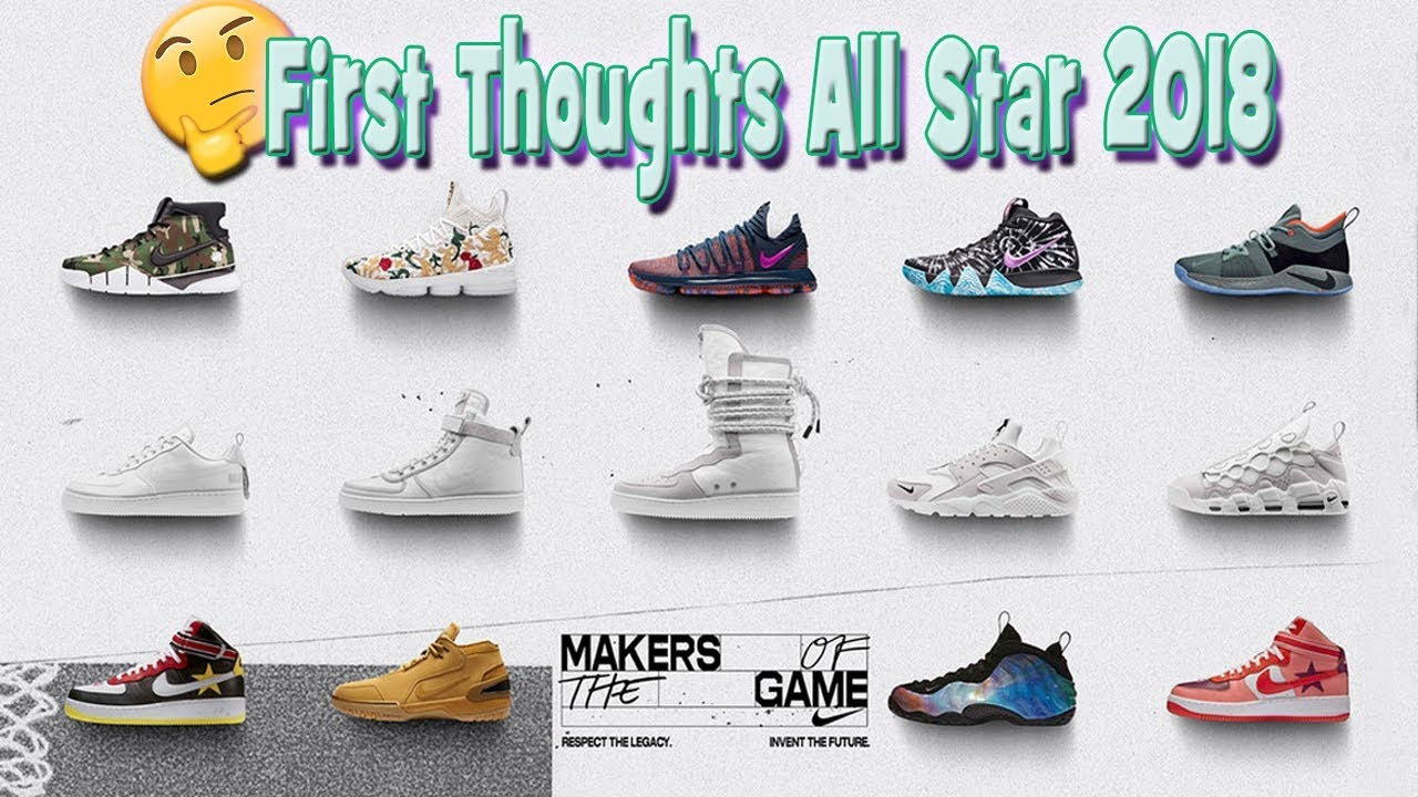 Nike All Star 2018 Makers Of The Game Sneaker Releases