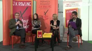 """J.K. Rowling """"Trafny wybór"""" - relacja z konferencji i fragmenty książki"""