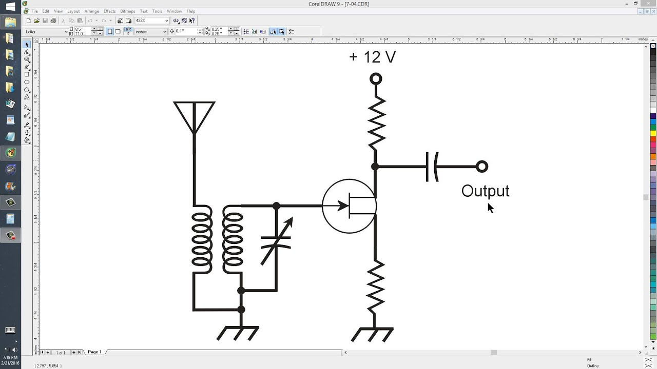 Tunable RF Preamplifier