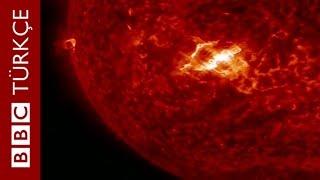 Güneş patlaması NASA'nın kameraları tarafından kaydedildi - BBC TÜRKÇE