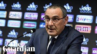 Sarri: coaching Ronaldo will be a 'step up' from Chelsea