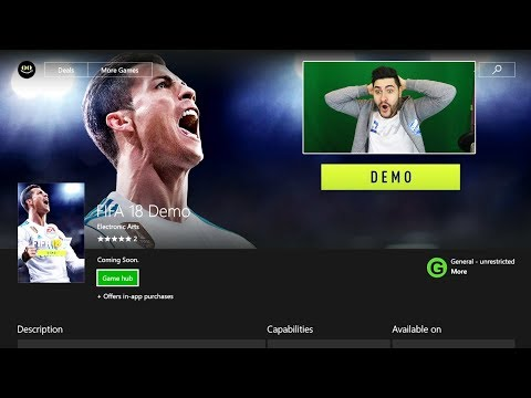 FIFA 18 DEMO OUT EARLY !!! HOW TO DOWNLOAD & PLAY FIFA 18 DEMO 1ST - THE SECRET TRICK