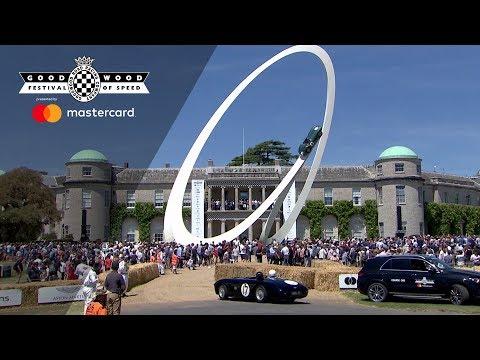Celebrating 70 Years Of Aston Martin At Goodwood