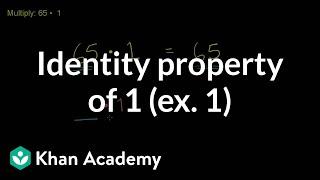 Identity Property of 1