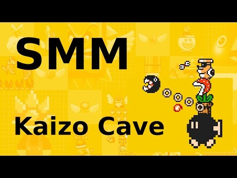 Super Mario Maker: KaizoCave a Midair Spring Jump
