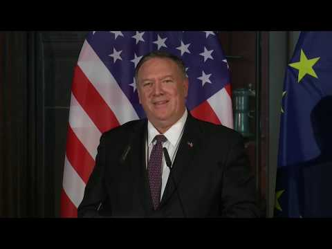 Secretary Pompeo remarks from joint press availability with German Foreign Minister Heiko Maas