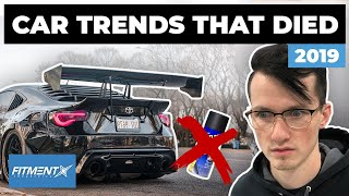 Car Trends That Died This Year