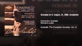 Sonata in C major, K. 398: Andante