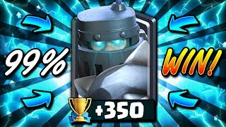 99% WIN RATE MEGA KNIGHT DECK JUST GOT STRONGER!! TRY THIS DECK!! - Clash Royale