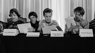 Stranger Things Season 2 Confirms Eleven's Return with Table Read Photo