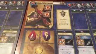 World of Warcraft Board Game Playthrough Part 1