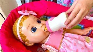 Маша получила посылку а там Сюрприз! Новая кукла LuvaBella