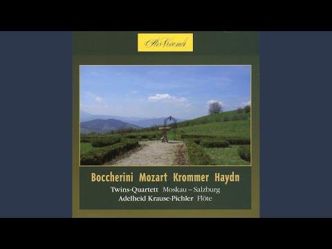 Flute Concerto in D Major, G. 575: III. Rondeau: Allegretto